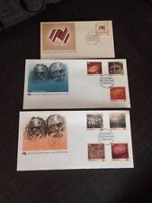 1984 Australian Bicentennial Collection Set Of 3 Canberra Unaddressed FDC AP