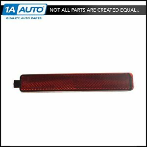 OEM Rear Bumper Mounted Outer Red Reflector Lens Driver or Passenger Side LH RH