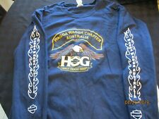 WAGGA WAGGA CHAPTER Australia HOG Harley Owners Group T Shirt long sleeved L