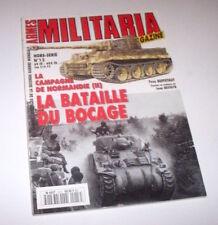 Armes Militaria Magazine Hors serie 13 Campagne de Normandie II 1993
