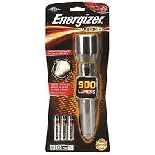 Energizer VISION HD METAL LED TORCH +6xAA, 900lm, 195m Beam PMHH61 *USA Brand