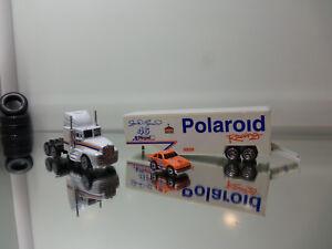 1992 Racing Champions Semi Transporter - Polaroid Racing Tampo -Mint Loose 1/87