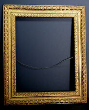Beautiful And Elegant Antique Fluted Cove Ornate Gilded Frame 20 x 16