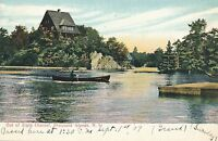 THOUSAND ISLANDS NY – Out of Sight Channel – udb (pre 1908)