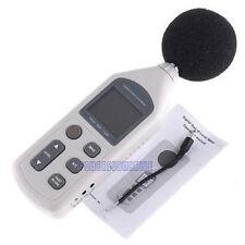 NEW Digital Sound Level Meter 30-130dB Pressure Tester Decibel Noise Measurement