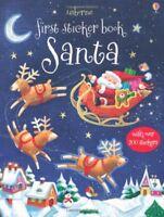 Santa (Usborne First Sticker Books) by Sam Taplin, NEW Book, FREE & Fast Deliver