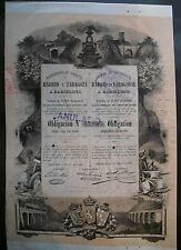 Ferrocarriles directos Madrid y zaragoza 1883 Barcelone