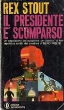 B Il presidente è scomparso Rex Stout Oscar Mondadori 1969