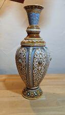 Alte Villeroy & Boch Mettlach Vase mit Formnummer 1256