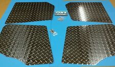 Polaris Ranger 800 Crew 2010-2014 UTV DIAMOND PLATE FLOOR XP FRONT AND REAR