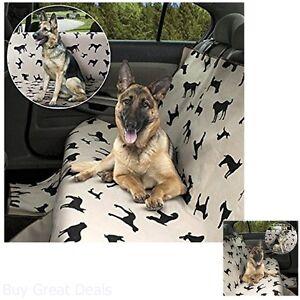 Waterproof Pet Seat Cover Dog Back Seat Car Truck Protector Fur Dirt Travel