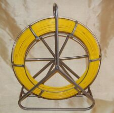 "Refurb 1/4""x 425' Duct Rodder Fish Tape Bluerock Tools Wire Cable Rod Fishtape"