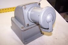 Hubbell Hbl3100rs1w Receptacle 100 Amp 2p3w Hubbell Mb601003w 1 12 Back Box