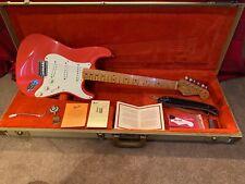 1998 Fender AVRI 57 Stratocaster fiesta red