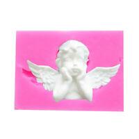 Silicone Molds 3D Angel Baby Shape Fondant Cake Mold Chocolate Baking Tools New