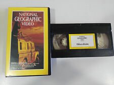 ODISEA AFRICANA - VHS TAPE CINTA NATIONAL GEOGRAPHIC VIDEO