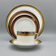 Fitz & Floyd PLATINE D'OR 5pc Place Setting (s)