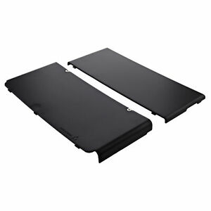 Cover plates for Nintendo New 3DS console top & bottom - Black | ZedLabz