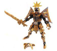 "12"" Power Rangers Samurai Shogun Battalized GOLD RANGER figure w/Armour RARE"