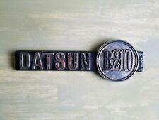 ANTIQUE VINTAGE 1974 Datsun B210 Side Badge Logo OEM Emblem Symbol Sign 74-78