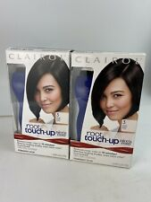 #3 Clairol Permanent Root Touch Up Kit Hair Color Matches Black Shades Lot of 2