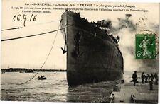 CPA Saint-NAZAIRE - Lancement de la FRANCE le plus frand paquebot (213205)