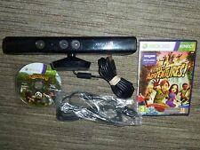 MICROSOFT XBOX 360 S SLIM OFFICIAL KINECT SENSOR 2 GAMES Kinectimals Adventures