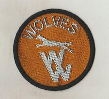 F.A. PREMIER LEAGUE  CLUB  SEW ON CLOTH PATCHES/BADGES   WOLVES  WW