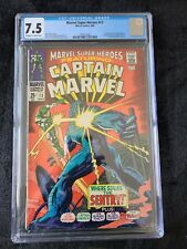 Marvel Super-Heroes #13 - Marvel 3/1968 CGC 7.5 - 1st App Carol Danvers!