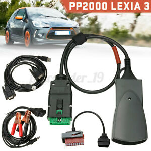 PP2000 Lexia 3 OBD2 Diagnostic Interface Scan Tool Diagbox V7.83 For Peugeot