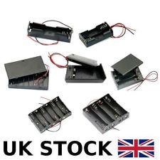 Battery Holder Box Storage Case Pack 1x 2x 3x 4x 18650 3.7V AA 1.5V PP3 9V Cells