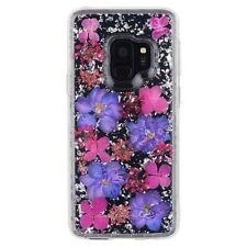 CASE MATE - Karat Petals with Real Flowers - SAMSUNG GS9 - Purple