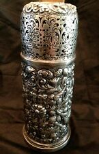 Victorian Sterling Silver Sugar Caster Shaker Woodward Co 1890 Finley/Taylor Eng