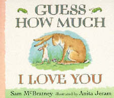 Guess How Much I Love You, Sam McBratney | Board book Book | Acceptable | 978074