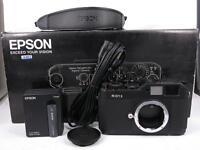 EPSON R-D1S 6.1 MP Rangefinder Digital Camera BOXED - Black free shipping JAPAN