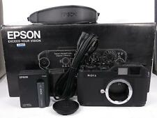 EPSON R-D1S 6.1 MP Rangefinder Digital Camera BOXED - Black free shipping JAPAN