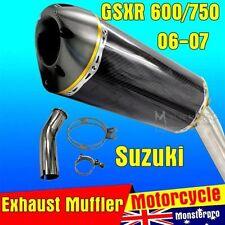 Carbon Fiber Motorcycle Mufflers