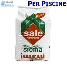 SALE PER PISCINE IN SACCHI DA 25 KG SALE GROSSO ALIMENTARE SICILIA