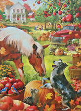 .PUZZLE...JIGSAW....JONES....Autumn Farm...300pc....Sealed...