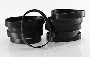 Spirit Blank Black Silicone Wrist powerful Rubber Bracelet karma Bangle gift