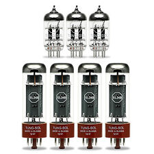 Tung-Sol Tube Upgrade Kit For Carvin XV212 &  X100B EL34 Amps EL34B 12AX7