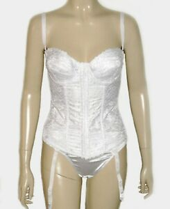 Frederick's of Hollywood, New Bridal Corset  Bustier with Garter