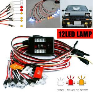 Brems-, Scheinwerfer- und Signal LED Licht Kit für 1:10 RC Car Auto Truck DE