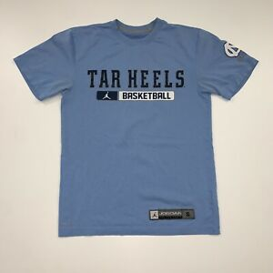 Jordan North Carolina Tar Heels UNC T-Shirt Size Mens Small Blue NCAA