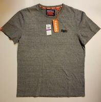 Superdry Men's Orange Label Vintage Embroidered T-Shirt GRAY XXL NWT SHIPS FAST