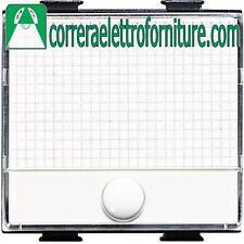 BTICINO MATIX  pulsante portanome AM5008