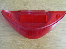MOTORCYCLE REAR TAIL LIGHT LENS TO FIT TAIL TIDY OVAL SHAPED 24cmx11cm