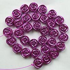 Beautiful Hematite Flower loose bead 15.5inch W0057136
