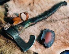 """Premium Viking Combat  Axe """"Viking Dragon"""" Handmade Custom Handforged"""