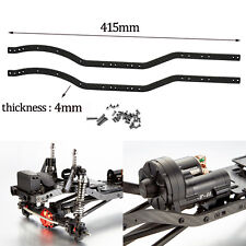 2Pcs Carbon Fiber Chassis Frame Rails for 1/10 Axial SCX10 RC Crawler Car